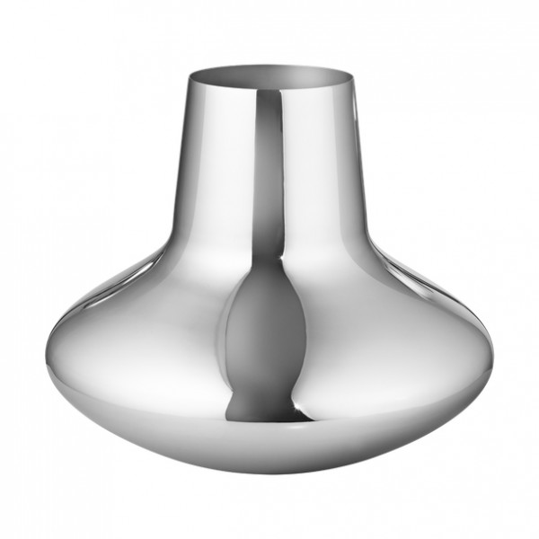Georg Jensen - Henning Koppel - Vase - ca. 222x270 mm, HxØ - Edelstahl