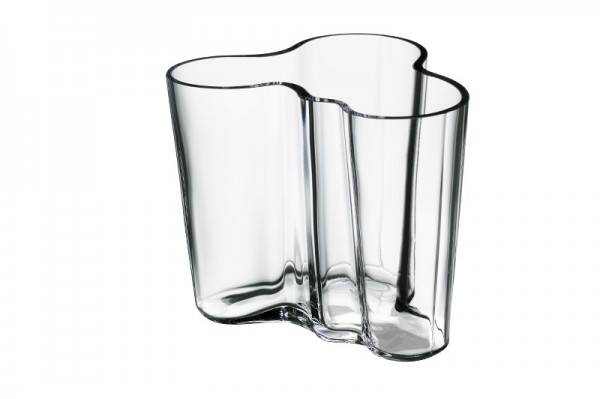 iittala - Alvar Aalto Collection - Vase - 95 mm - Klar