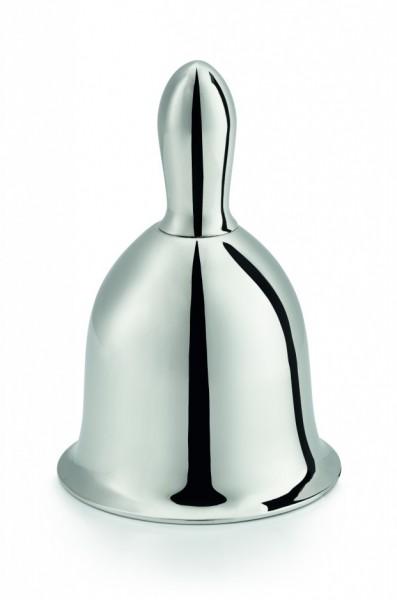 Philippi - Belly Bell - Glocke - ca. 10 cm (H) - hochglanzpoliert - Aluminium,Stahl,Nickel