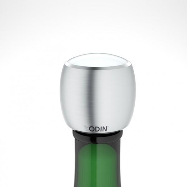 Odin - CHAMPIAN - Sekt-Champagnerverschluss - gebürstet weiß
