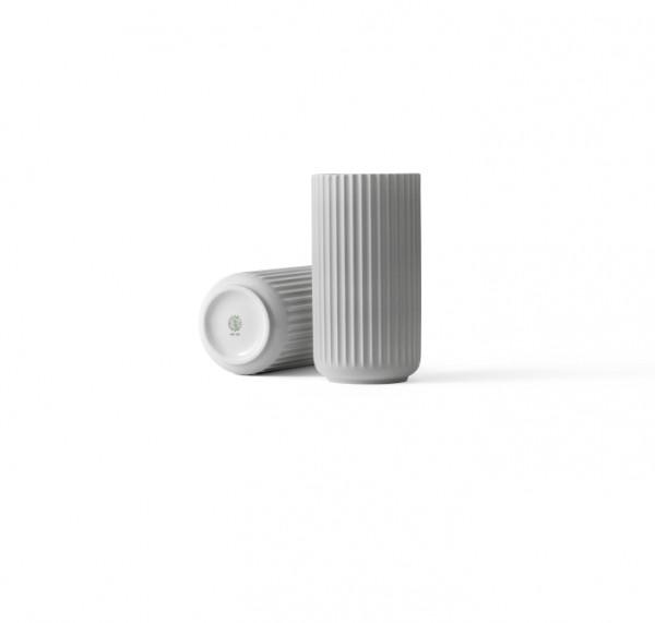 Lyngby - Vase - 20 cm - hellgrau - ca.20x11x11 cm - Porzellan