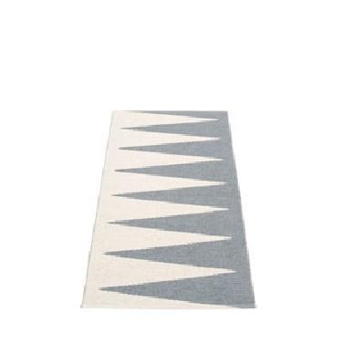 Pappelina - Vivi - Teppich - grau-vanille - 70x150 cm