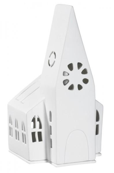 Räder - ZUHAUSE - Lichthaus - Kirche - ca. 13,4x11,3x21,7cm