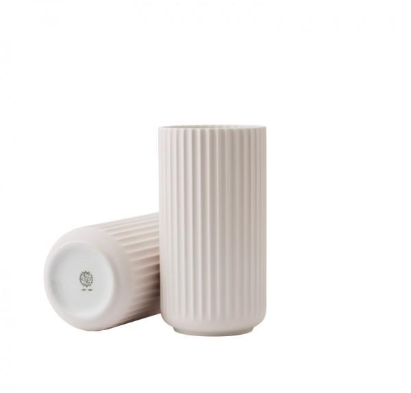 Lyngby - Vase - 20 cm - soft pink - 20x10x10 cm - Porzellan