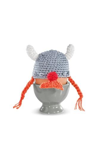 Donkey - Funky Eggs - Eierix - Eierwärmer - ca. 5x5 cm - 100% Bw.