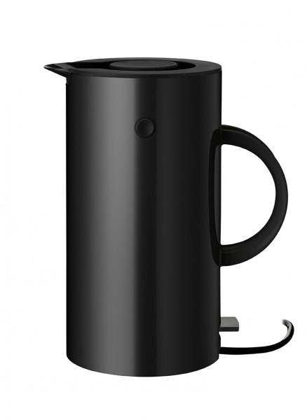 Stelton - EM77 - Wasserkocher - 1,5l - schwarz - ca. 13,3x25x20,5 cm (BxHxL) - Erik Magnussen