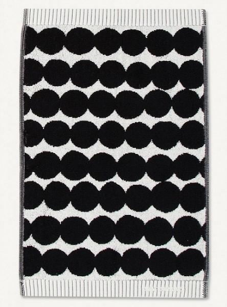 Marimekko - RÄSYMATTO - Badetuch - Saunatuch - 70x150 cm - weiß, schwarz - Maija Louekari - 100% Bw.