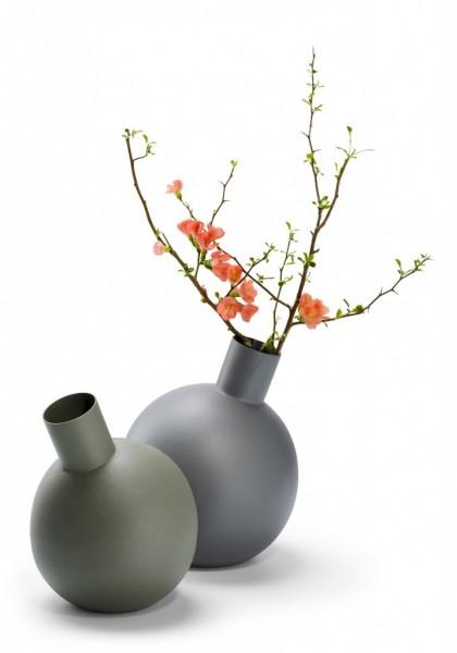 Philippi - Balloon - Vase - L - ca.22 cm (H) - Stahl, pulverbeschichtet