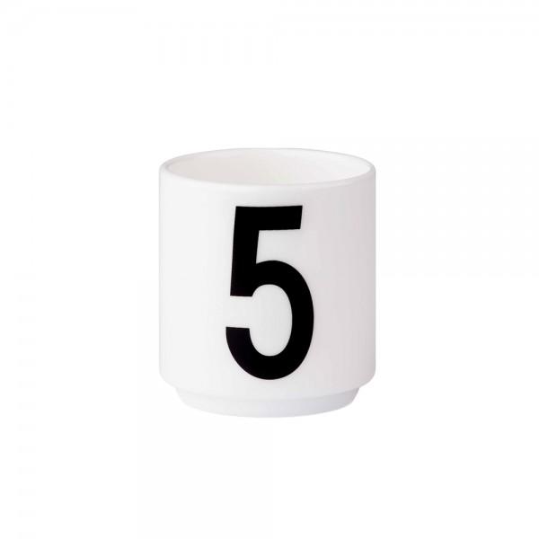 Design Letters - Arne Jacobsen - Espresso Cup/Teelicht - 5 - 6x5,5cm (HxØ)