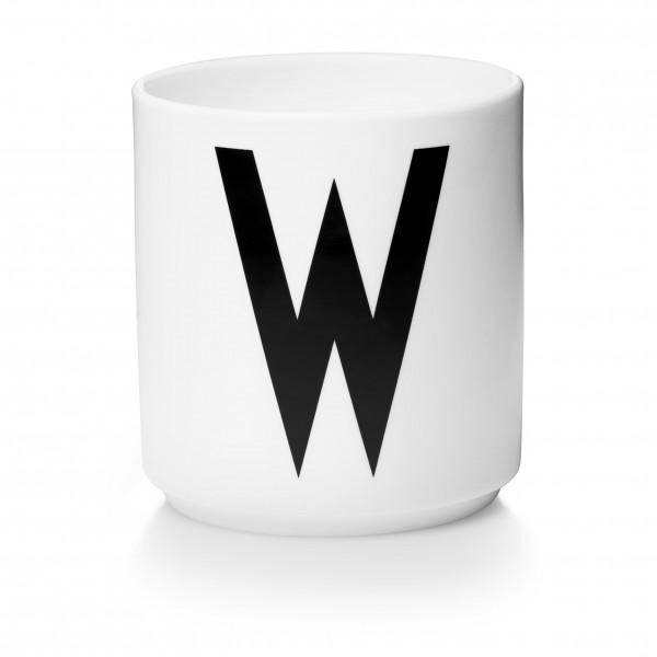 Design Letters - Arne Jacobsen - Porzellan Cup/Becher W - 9,0x8,3 cm (HxØ)