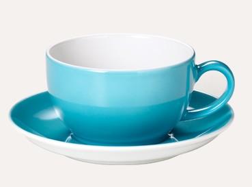 Dibbern - Solid Color - Kaffee Obertasse - 0,25l - Malibu Türkis