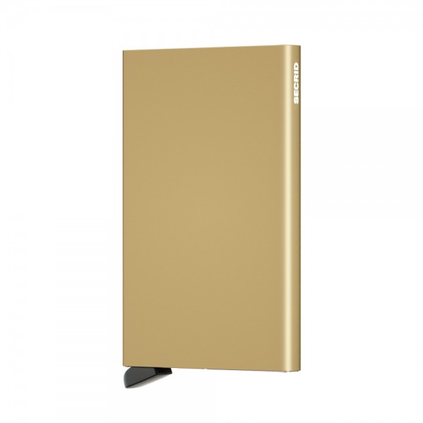 Secrid - Cardprotector - gold - Kreditkartenhalter - 63x102x8mm - 40 Gr.