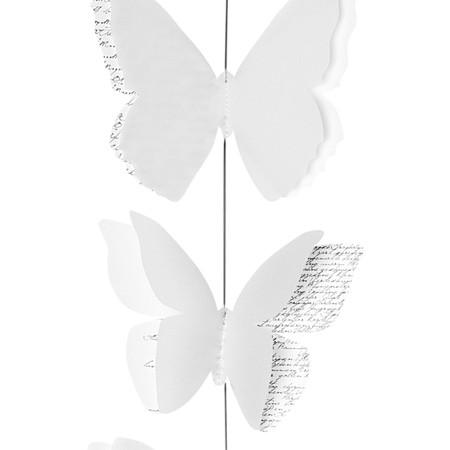 Räder - Kette -Schmetterling - Länge: ca 1,20m - Zuhause