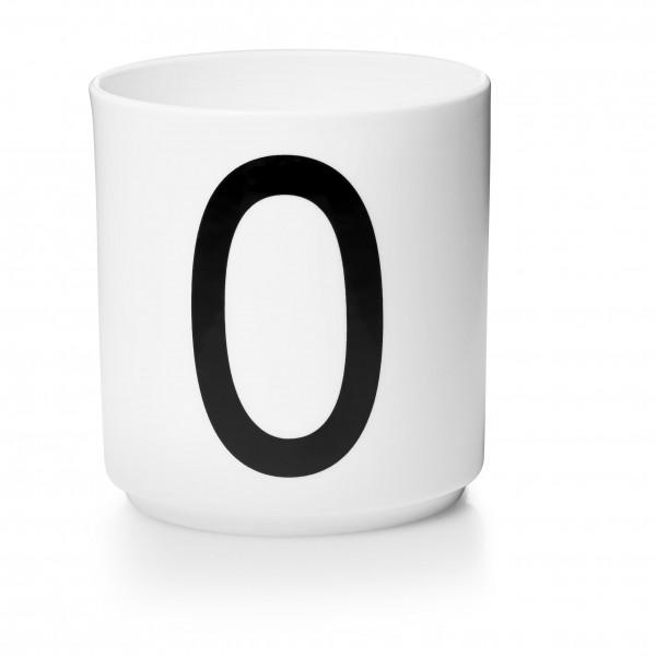Design Letters - Arne Jacobsen - Porzellan Cup/Becher O - 9,0x8,3 cm (HxØ)