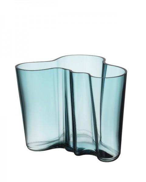 iittala - Alvar Aalto Collection - Vase - 160 mm - Seeblau