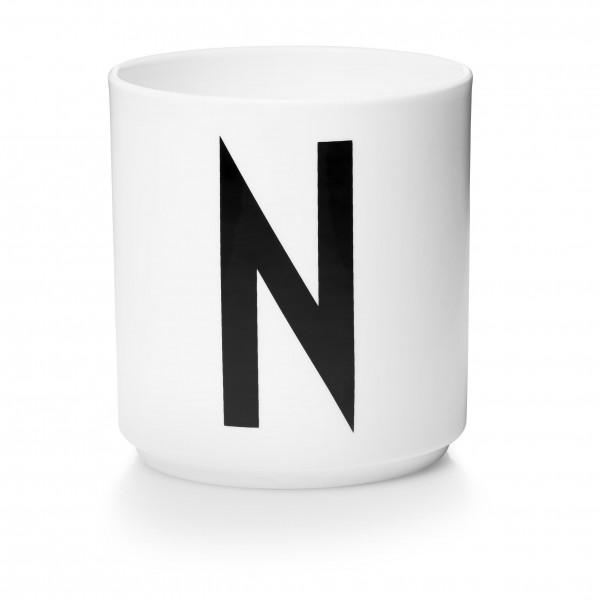 Design Letters - Arne Jacobsen - Porzellan Cup/Becher N - 9,0x8,3 cm (HxØ)
