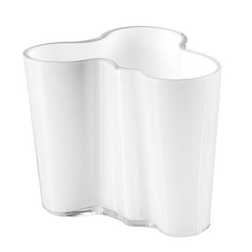 iittala - Alvar Aalto Collection - Vase - 95 mm - Opalweiß