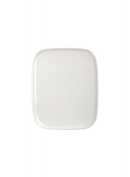 Marimekko - OIVA - Teller - 15x12 cm - weiß - Des. Sami Ruotsalainen