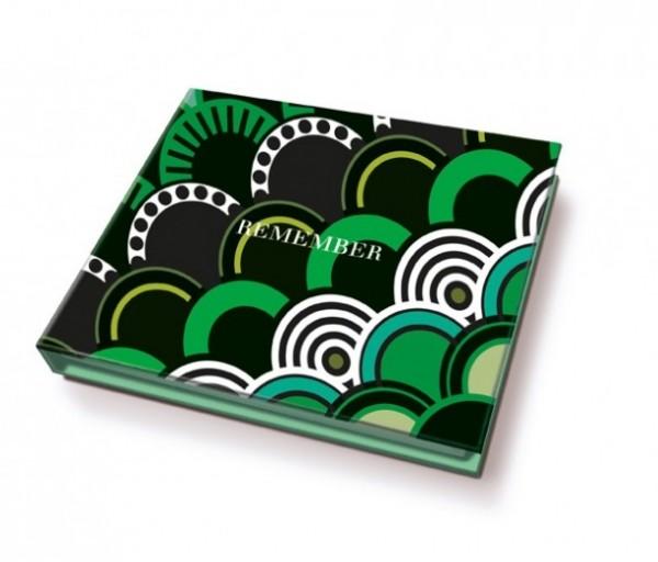 Remember - Memolino - Kimono - ca. 11x9,5x1,7cm - 200 Haftetiketten, 1 Kugelschreiber