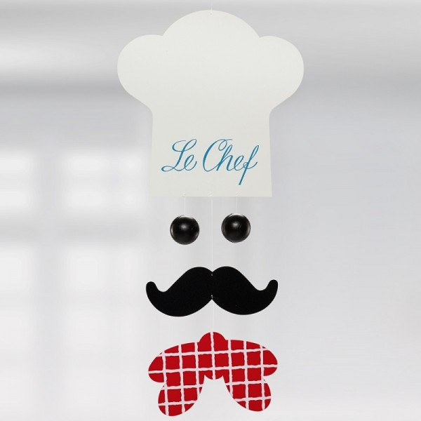 Flensted - Mobile - Chef de Cuisine - ca. 28x13 cm - Des.: Frede Fabek