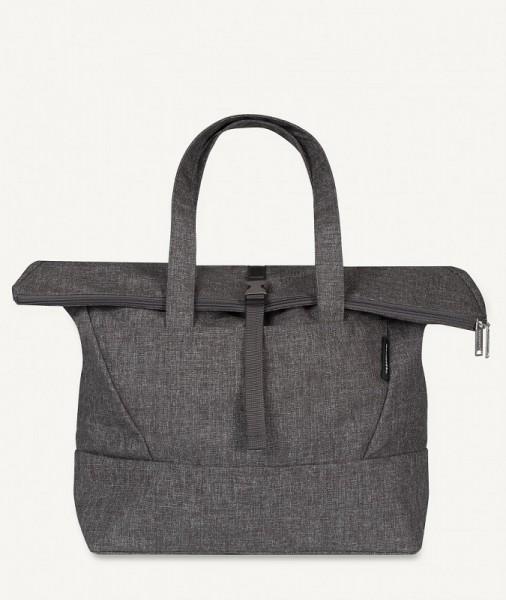 Marimekko - Kortteli - Shopper - Schulter-Tasche - Hakaniemi - melange-grau - ca. 48x36,5x15 cm (BxH