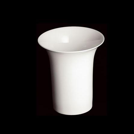 Dibbern - FBC - Vase konisch - 20 cm - weiß - Fine Bone China Porzellan