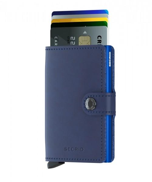 Secrid - Miniwallet - original - navy-blue - marine-blau - Schutz für Magnetkarten, EC-Kreditkarten