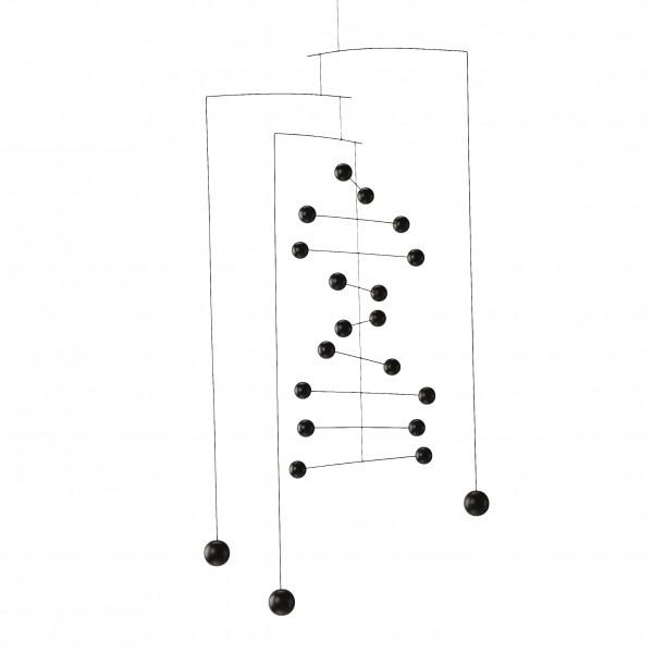 Flensted - Mobile - Kontrapunkt- schwarz - ca. 67x33 cm