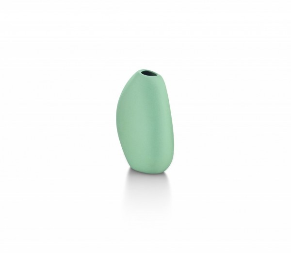 Philippi - Bud - Vase - ca. 10,5 cm (H) - blau, bleu - Keramik