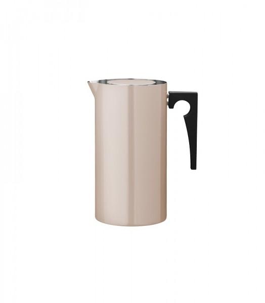 Stelton - Arne Jacobsen - Cylinda-Line - Kanne mit Eislippe 2,0 l - powder - Edelstahl, Emaille - Ø