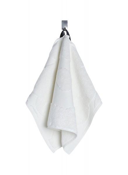 Marimekko - UNIKKO - Gästehandtuch - 30x50 cm - weiß - Bw-Frottee