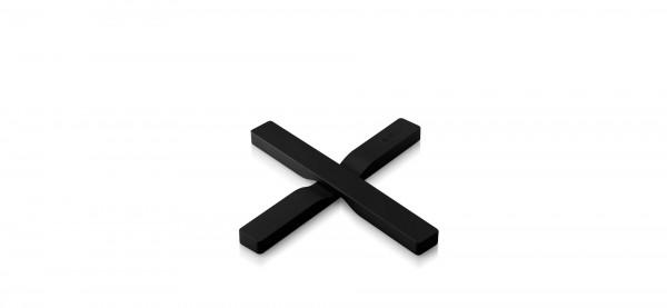 Eva Solo - Magnetischer Untersetzer - schwarz - charcoal - 195x25x22mm (LxBxH)