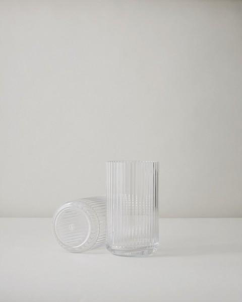 Lyngby - Vase - 12 cm - ca. 12x7x7 cm - Glas - klar