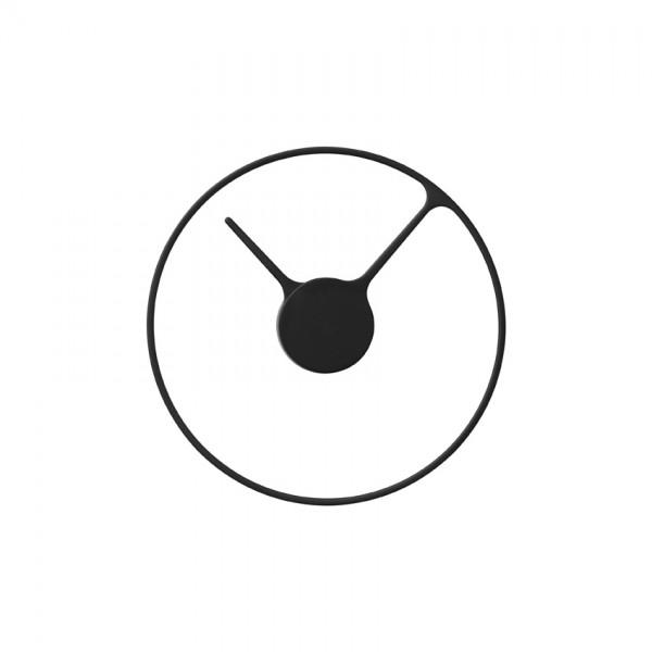 Stelton-Stelton Time Wanduhr, 30 cm, gross - Schwarz