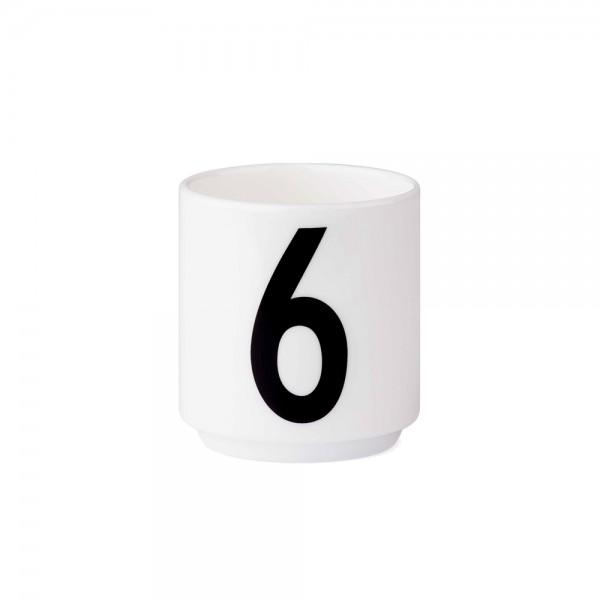 Design Letters - Arne Jacobsen - Espresso Cup/Teelicht - 6 - 6x5,5cm (HxØ)