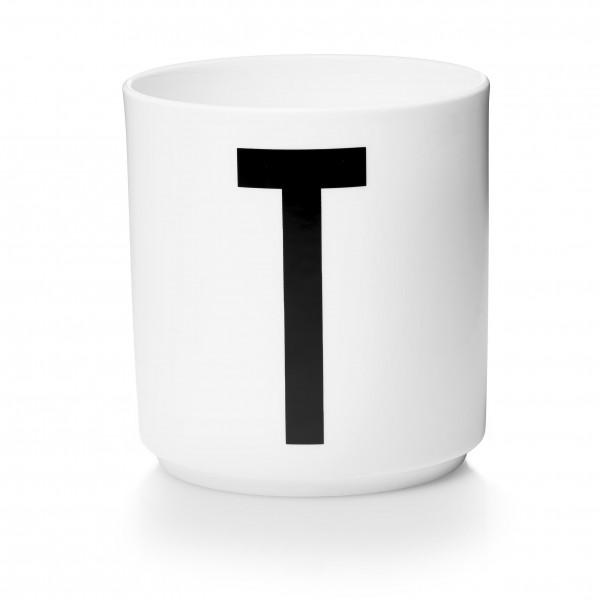 Design Letters - Arne Jacobsen - Porzellan Cup/Becher T - 9,0x8,3 cm (HxØ)