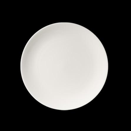 Dibbern - Pure - Dessert-Teller - flach - Ø 21 cm - Fine Bone China - Weiss - Porzellan