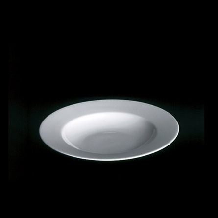 Dibbern - Classic - weiß - Teller - tief - 23 cm - Fine Bone China Weiss