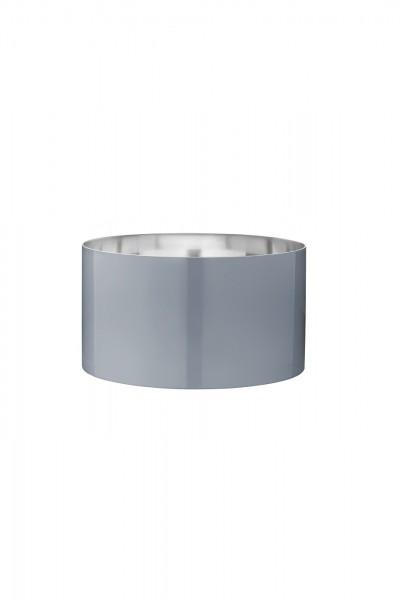 Stelton - Arne Jacobsen - Cylinda-Line - Salatschüssel 24 cm - smokey blue - Edelstahl, Emaill