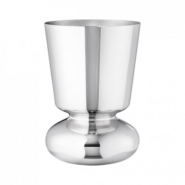 Georg Jensen - ALFREDO - Vase - S - 220 x Ø 150 mm - Edelstahl hochglanzpoliert