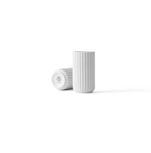 Lyngby - Vase - 12 cm - weiß matt - 12x7x7cm - Porzellan