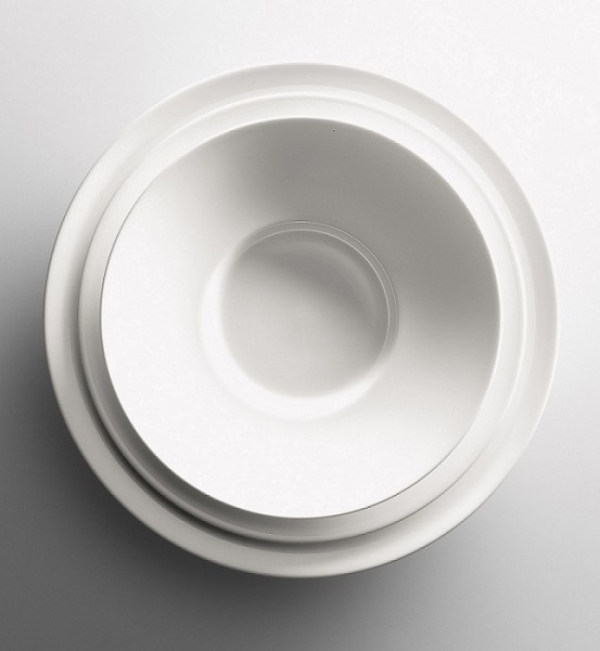 Dibbern - GRAND DINING - Teller - ca. 24 cm (D) - weiss - Fine Bone China Porzellan
