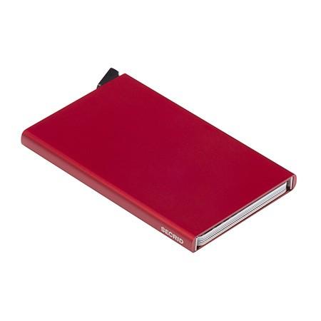 Secrid - Cardprotector - rot - Kreditkartenhalter - 63x102x8mm - 40 Gr.