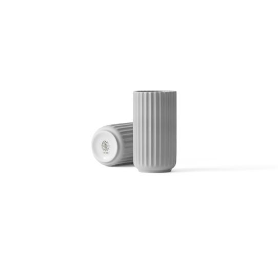 Lyngby - Vase - 12 cm - hellgrau - ca.12x7x7cm - Porzellan