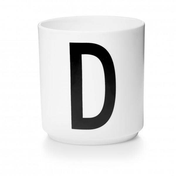 Design Letters - Arne Jacobsen - Porzellan Cup/Becher D- 9,0x8,3 cm (HxØ)