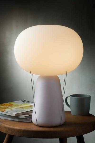 Nude - BLOW - Lampe - opal weiß - 40x30 cm (HxB) - handgefertigt - Design Tomas Kral - German Design