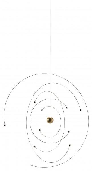 Flensted - Niels Bohr - Atom Model - Mobile - ca. 27x27cm
