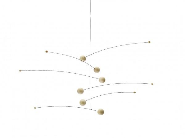 Flensted - Mobile - FUTURA - natur,natur - ca. 35x75 cm