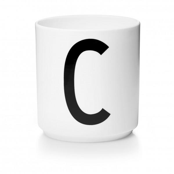 Design Letters - Arne Jacobsen - Porzellan Cup/Becher C- 9,0x8,3 cm (HxØ)