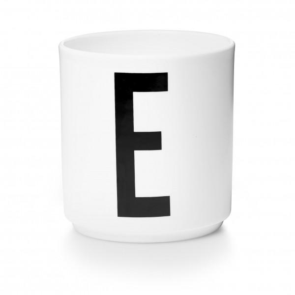 Design Letters - Arne Jacobsen - Porzellan Cup/Becher E- 9,0x8,3 cm (HxØ)